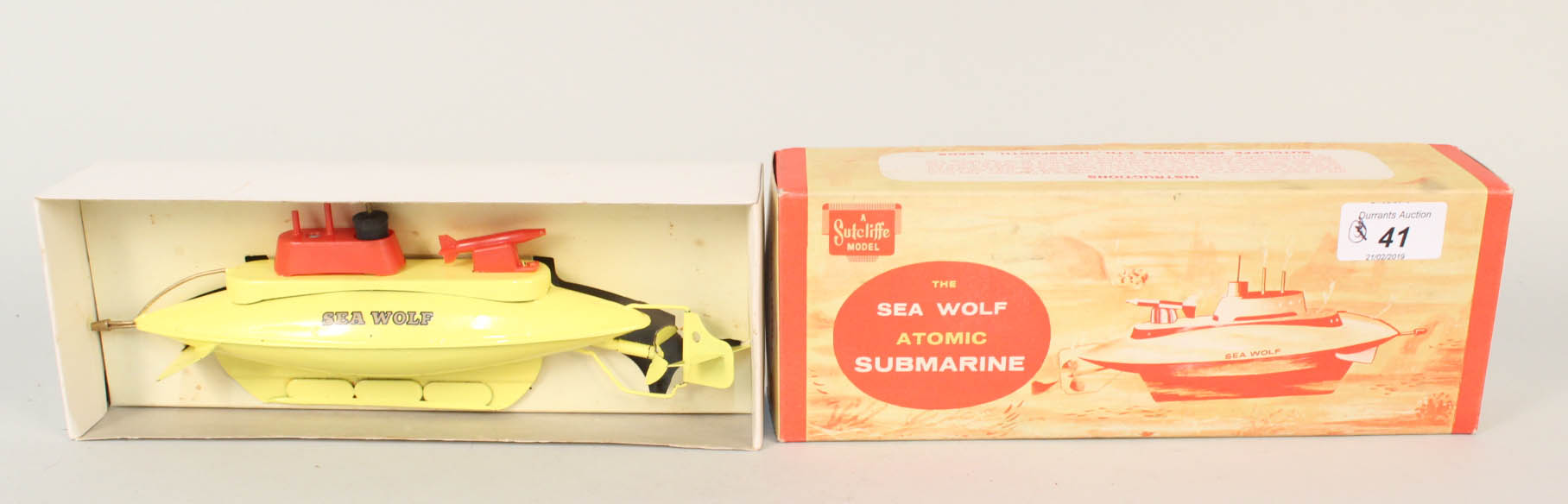 Lot 41 - A boxed Sutcliffe Sea Wolf Atomic Submarine,