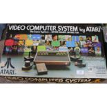 Lot 12 - A boxed Atari video computer system CX2600