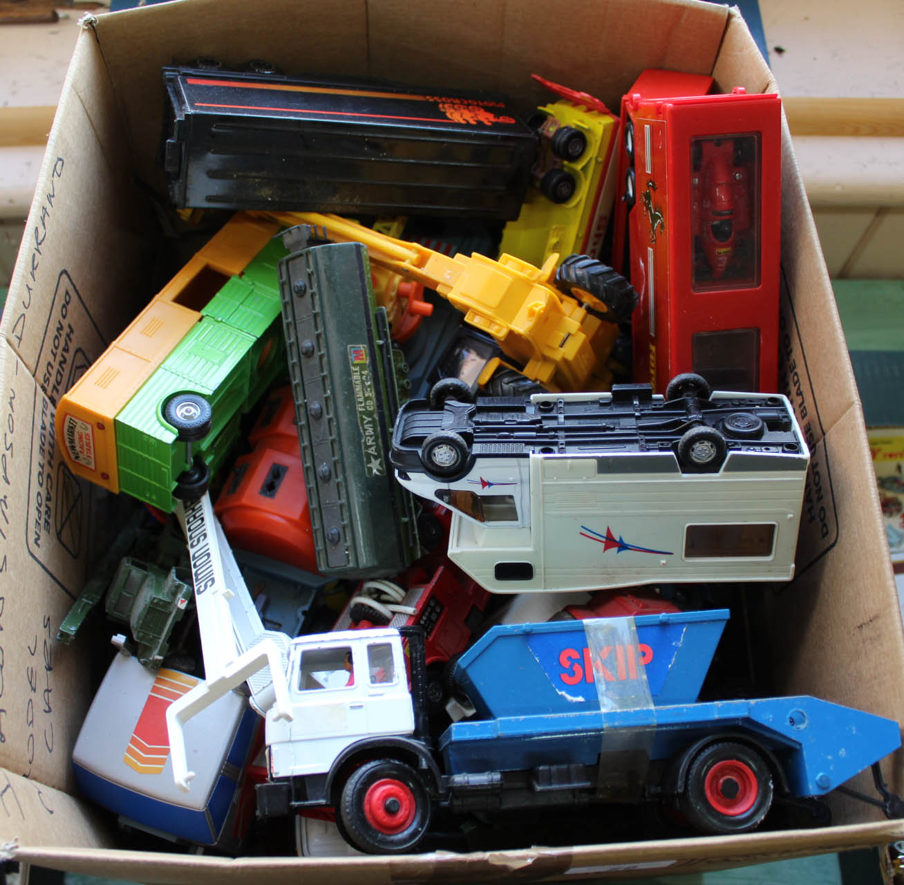 Lot 28 - Farm and other unboxed models, Dinky,