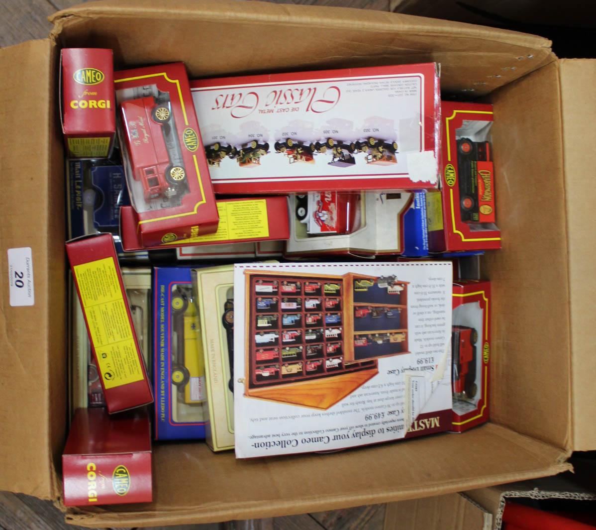 Lot 20 - Various boxed models, Corgi Cameo,