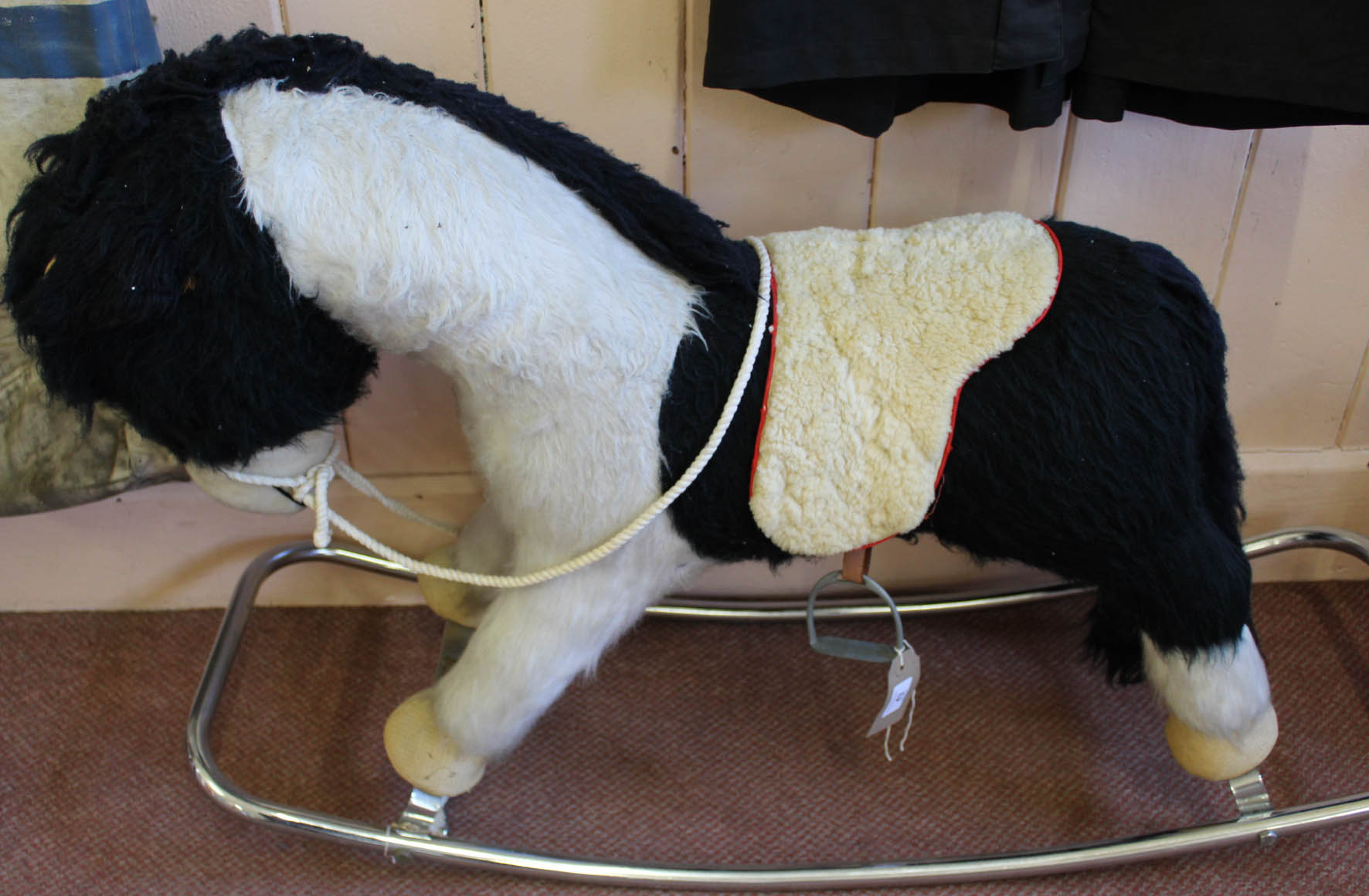 Lot 43 - A Merrythought rocking horse