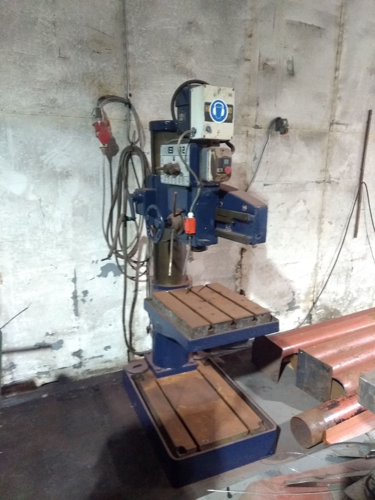 Lot 15 - Qualtors and Smith - Radial Arm Drill - QSR2 - VHM 48, 3 phase.