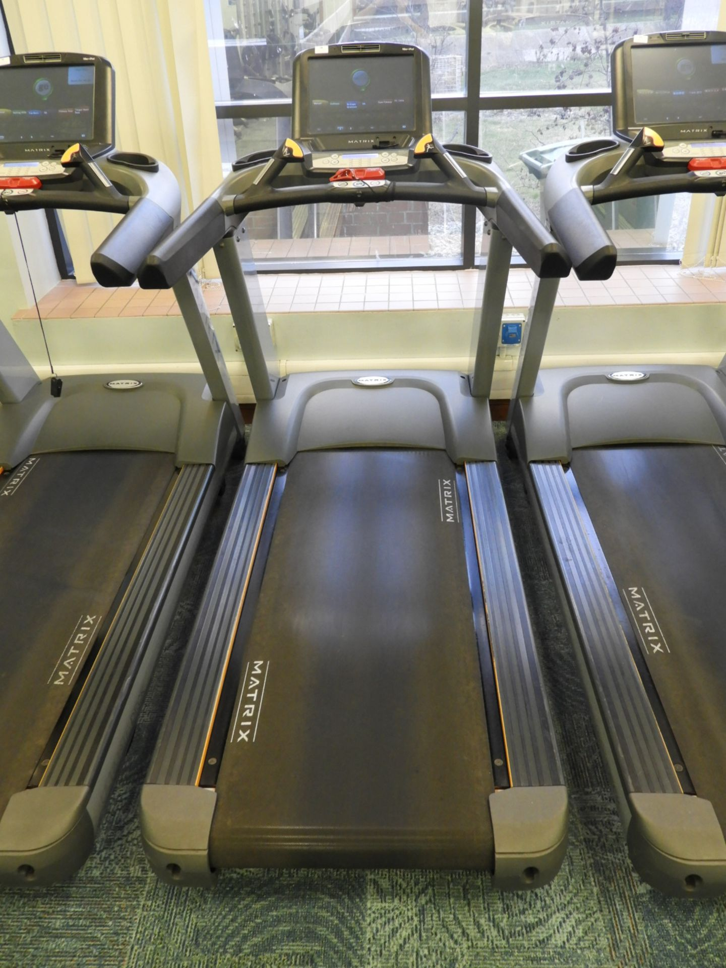 Lot 18 - *Matrix Ultimate Deck Treadmill with Touch Screen