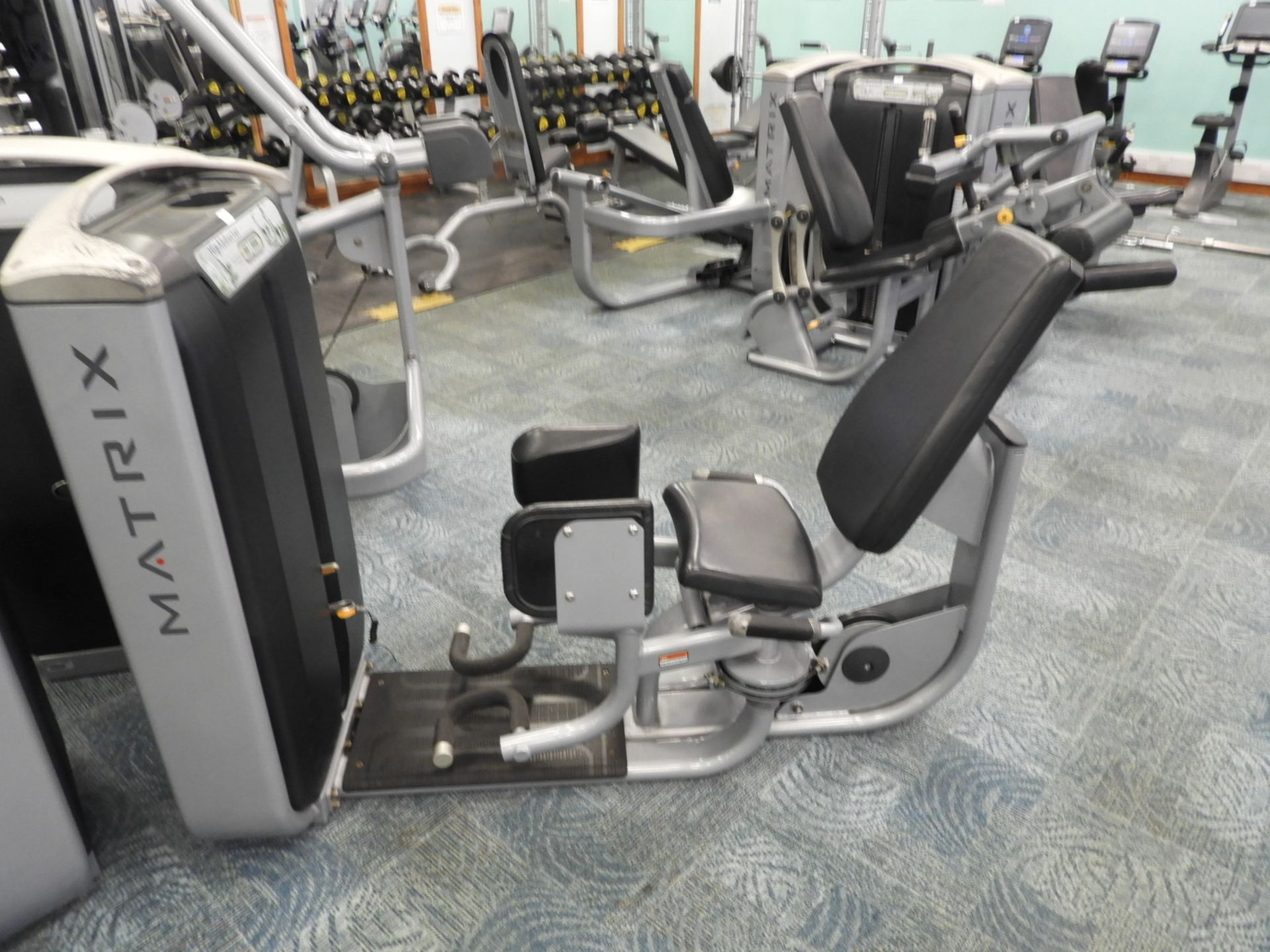 Lot 34 - *Matrix Hip Abductor Strength Machine
