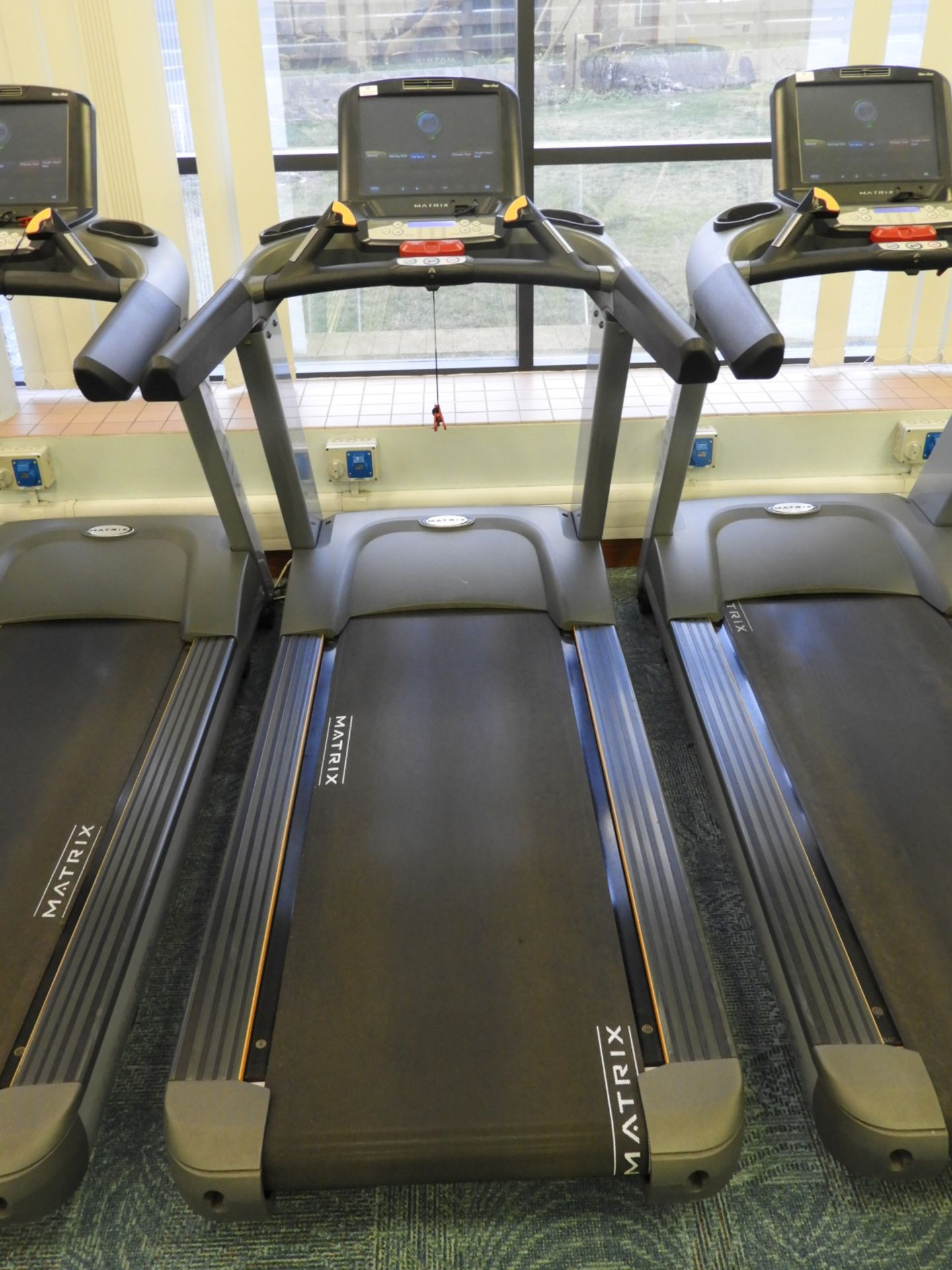 Lot 14 - *Matrix Ultimate Deck Treadmill with Touch Screen