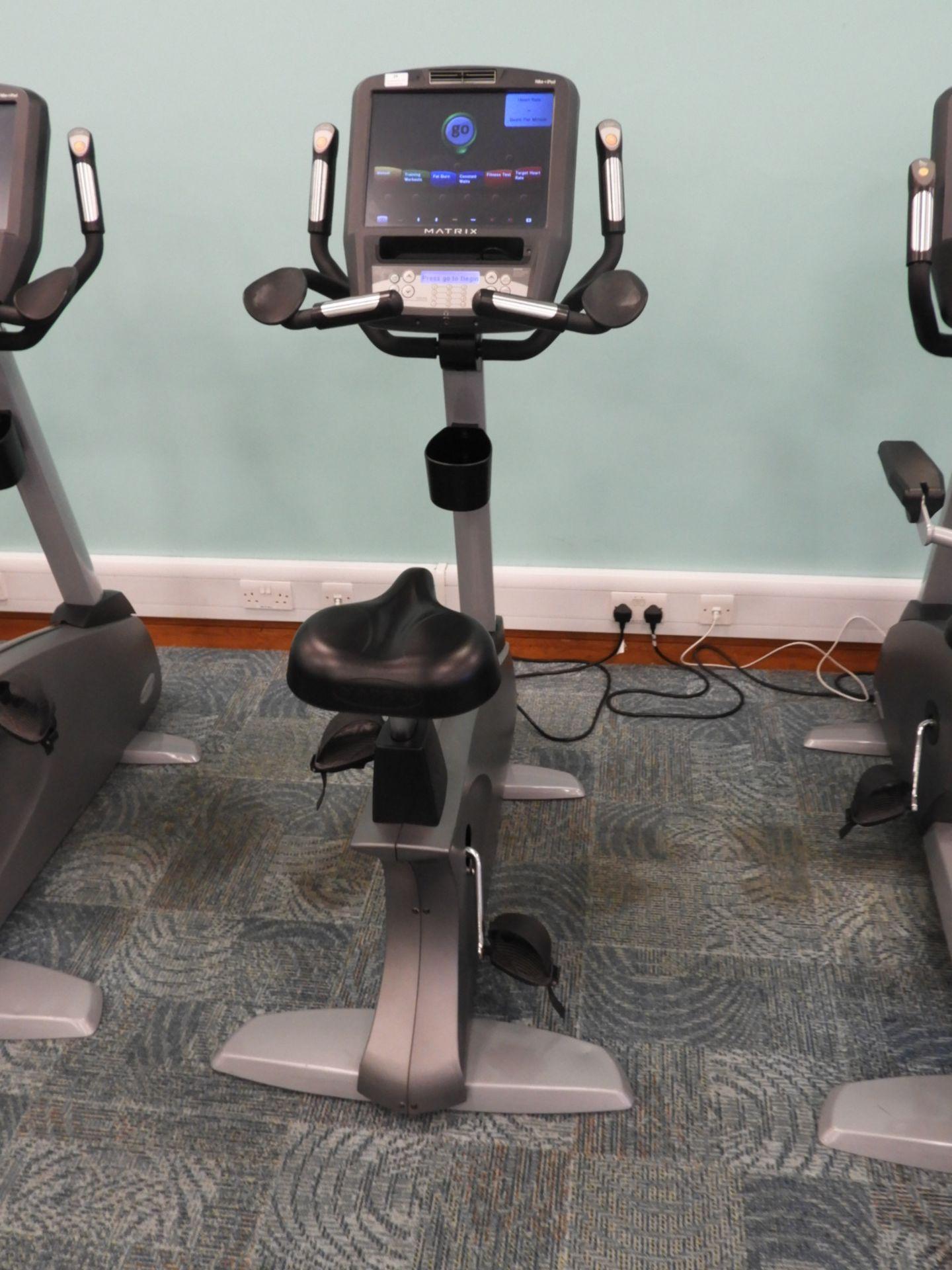 Lot 24 - *Matrix Upright Exercise Bicycle