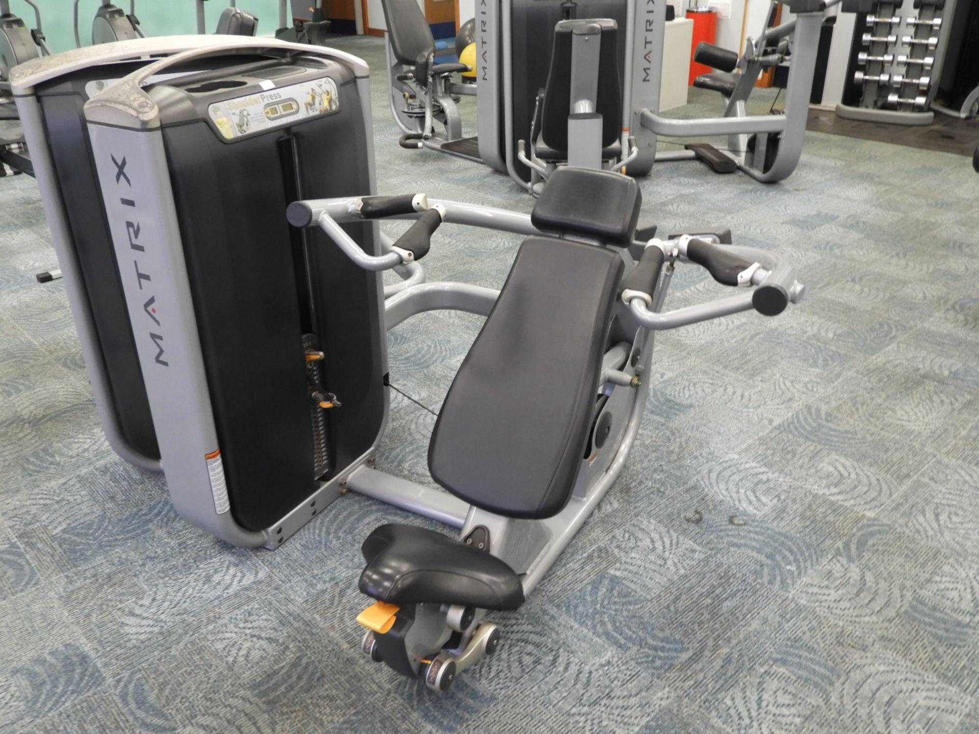 Lot 31 - *Matrix Shoulder Press Strength Machine