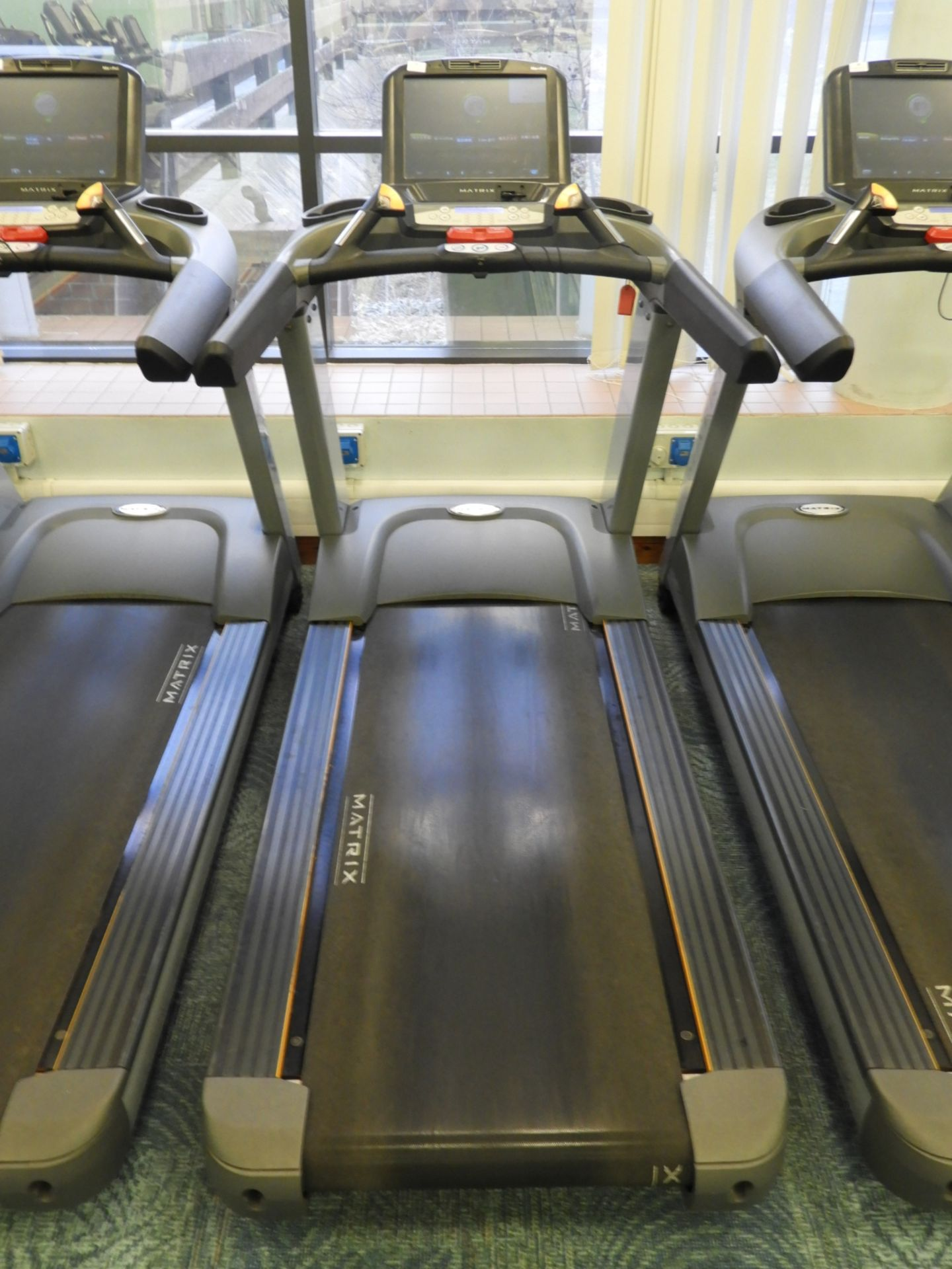 Lot 17 - *Matrix Ultimate Deck Treadmill with Touch Screen