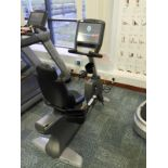 Lot 12 - *Matrix Recumbent Exercise Bicycle R7XE