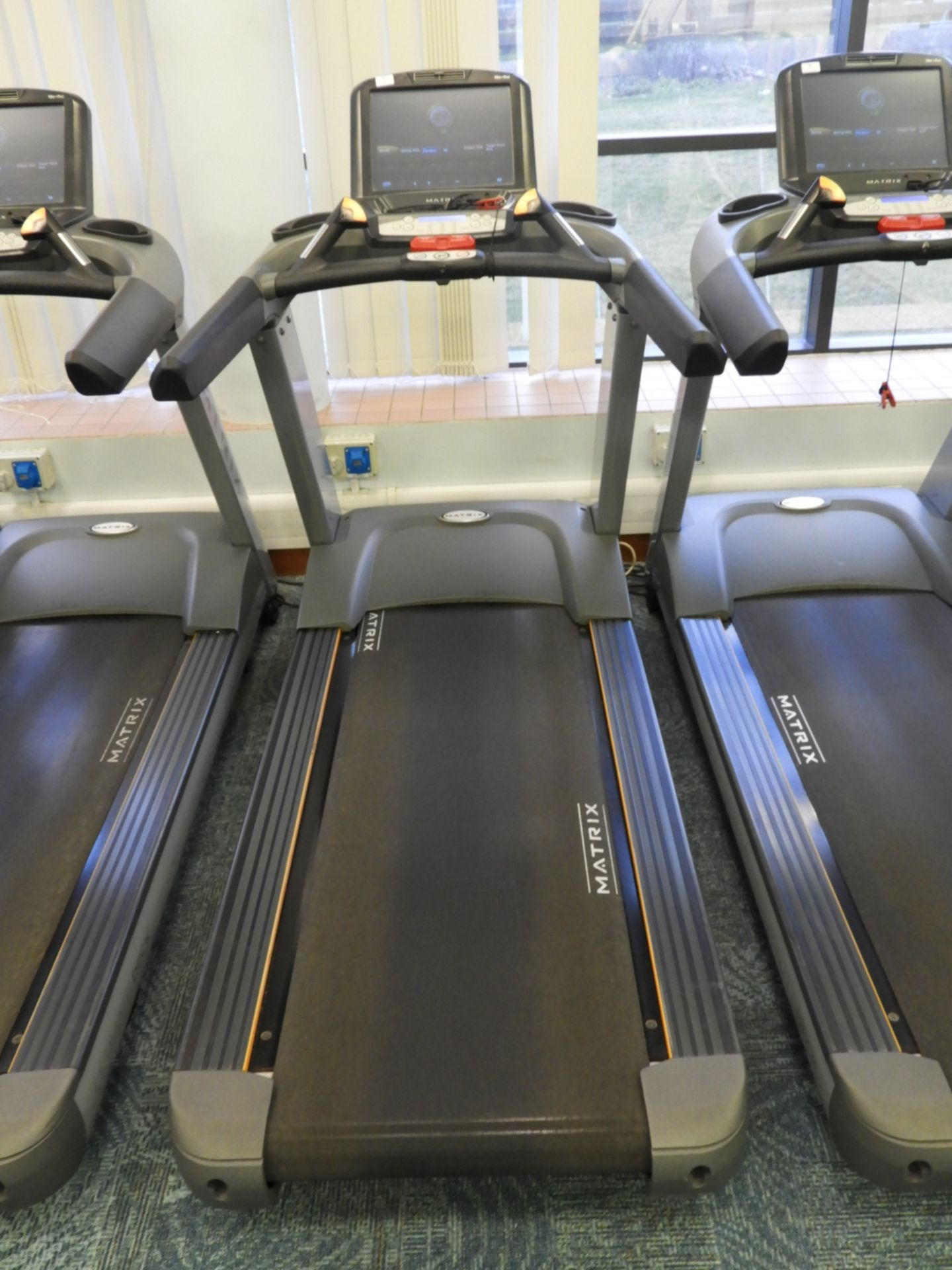 Lot 15 - *Matrix Ultimate Deck Treadmill with Touch Screen