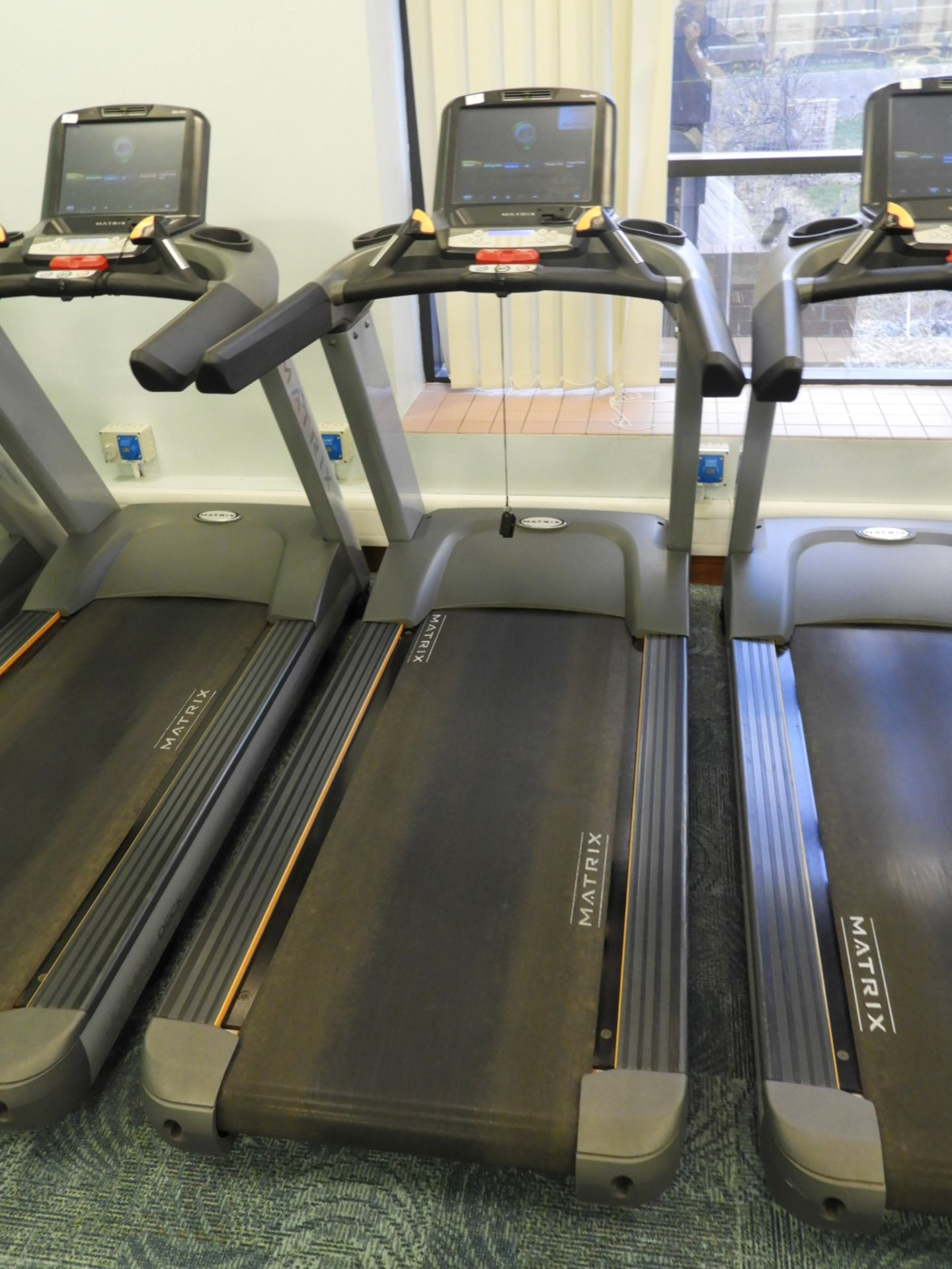Lot 19 - *Matrix Ultimate Deck Treadmill with Touch Screen
