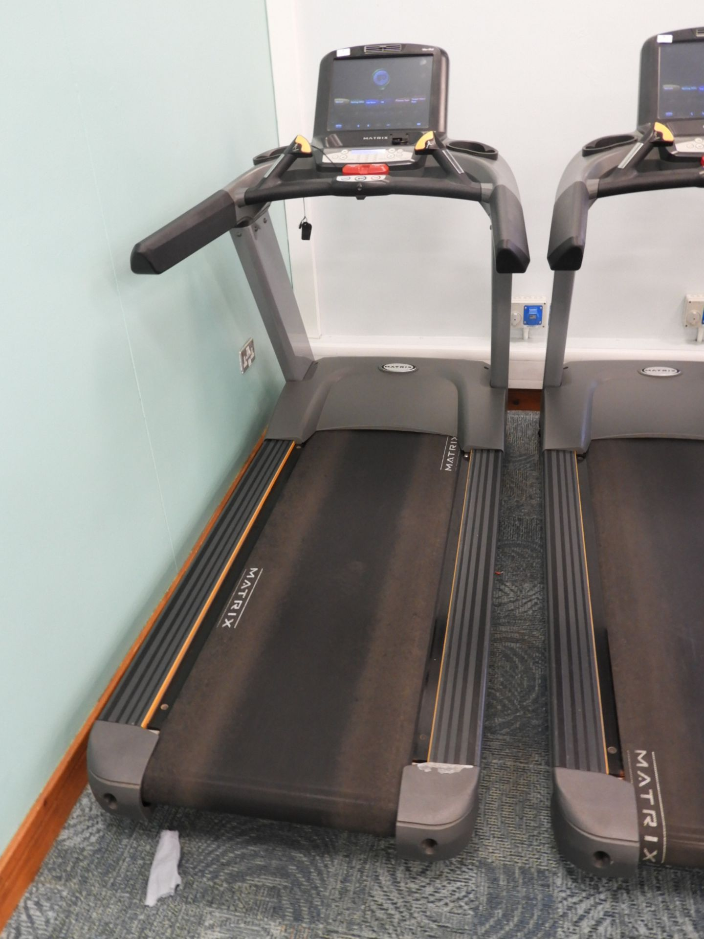 Lot 21 - *Matrix Ultimate Deck Treadmill with Touch Screen
