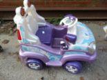 Lot 24 - Feber Magic Girl Ride-on Car