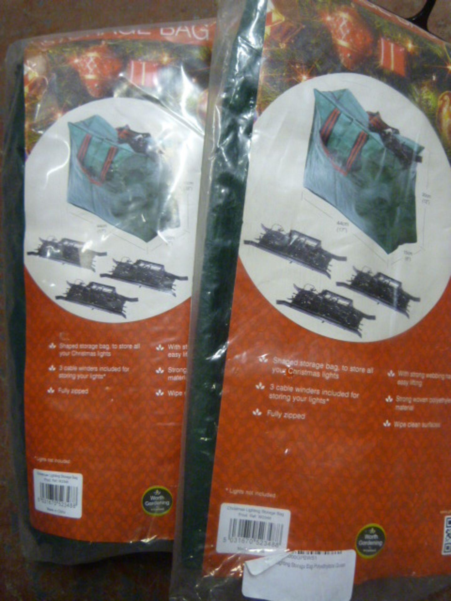 Lot 52 - *Two Christmas Lighting Storage Bags