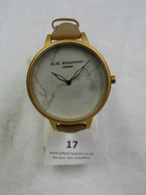 Lot 17 - *Elle Beaumont Ladies Wristwatch