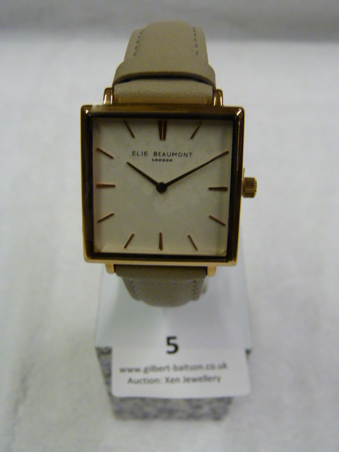 Lot 5 - *Elle Beaumont Ladies Wristwatch