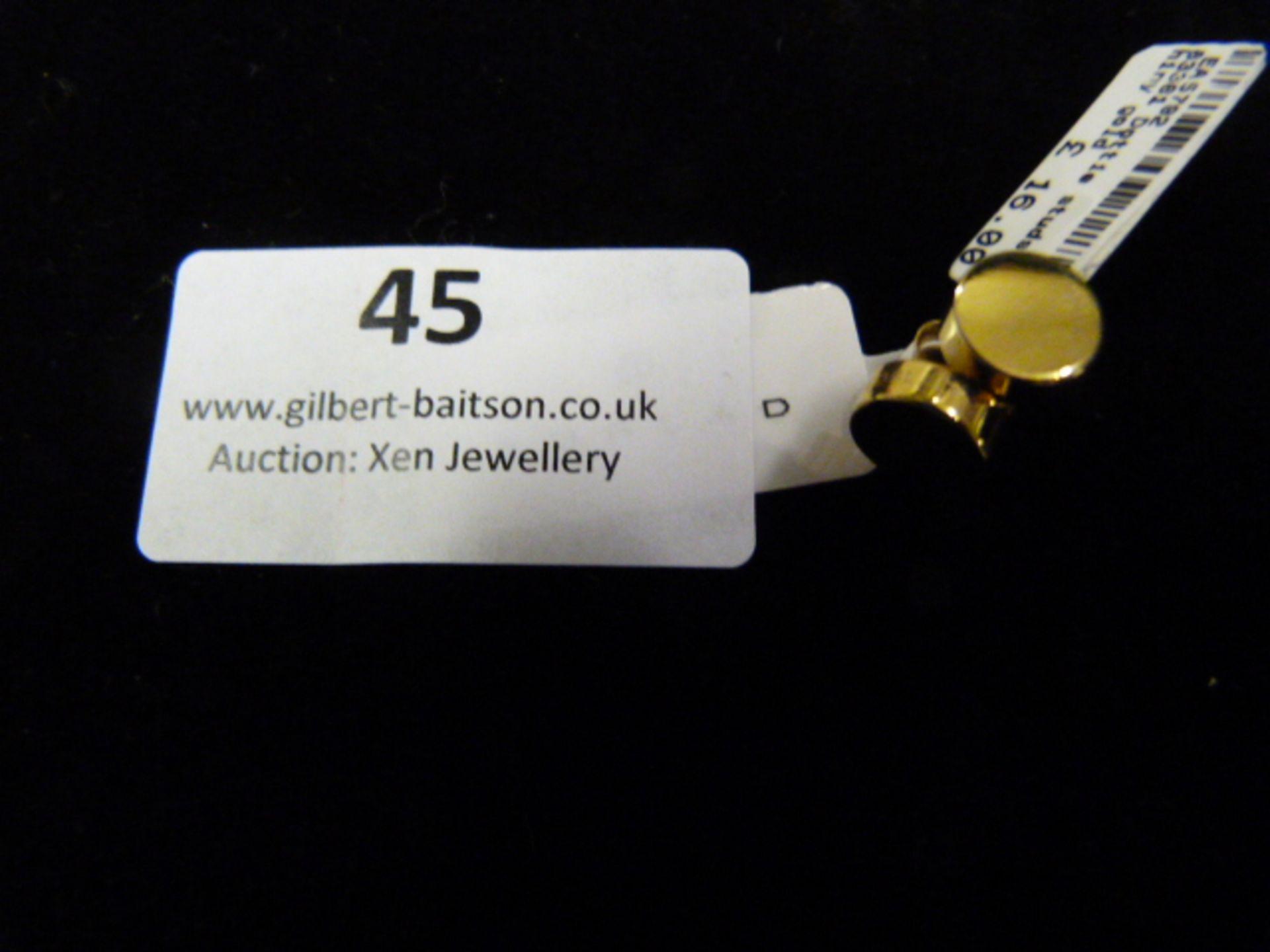 Lot 45 - *Pair of Dotty Studs (Shiny Gold)