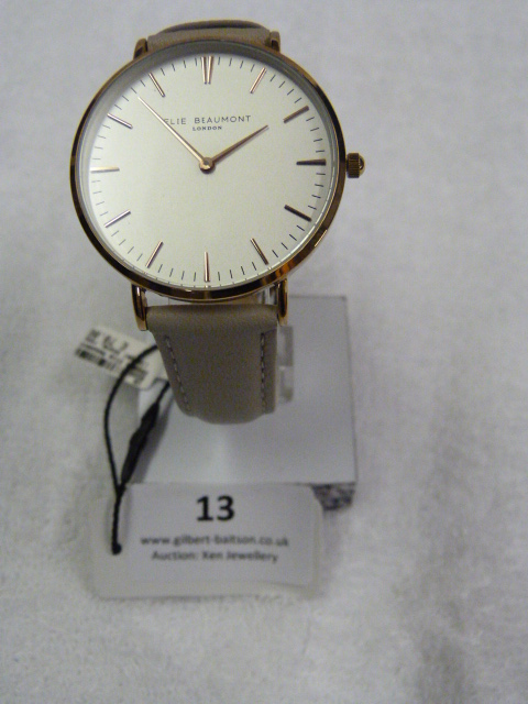 Lot 13 - *Elle Beaumont Ladies Wristwatch