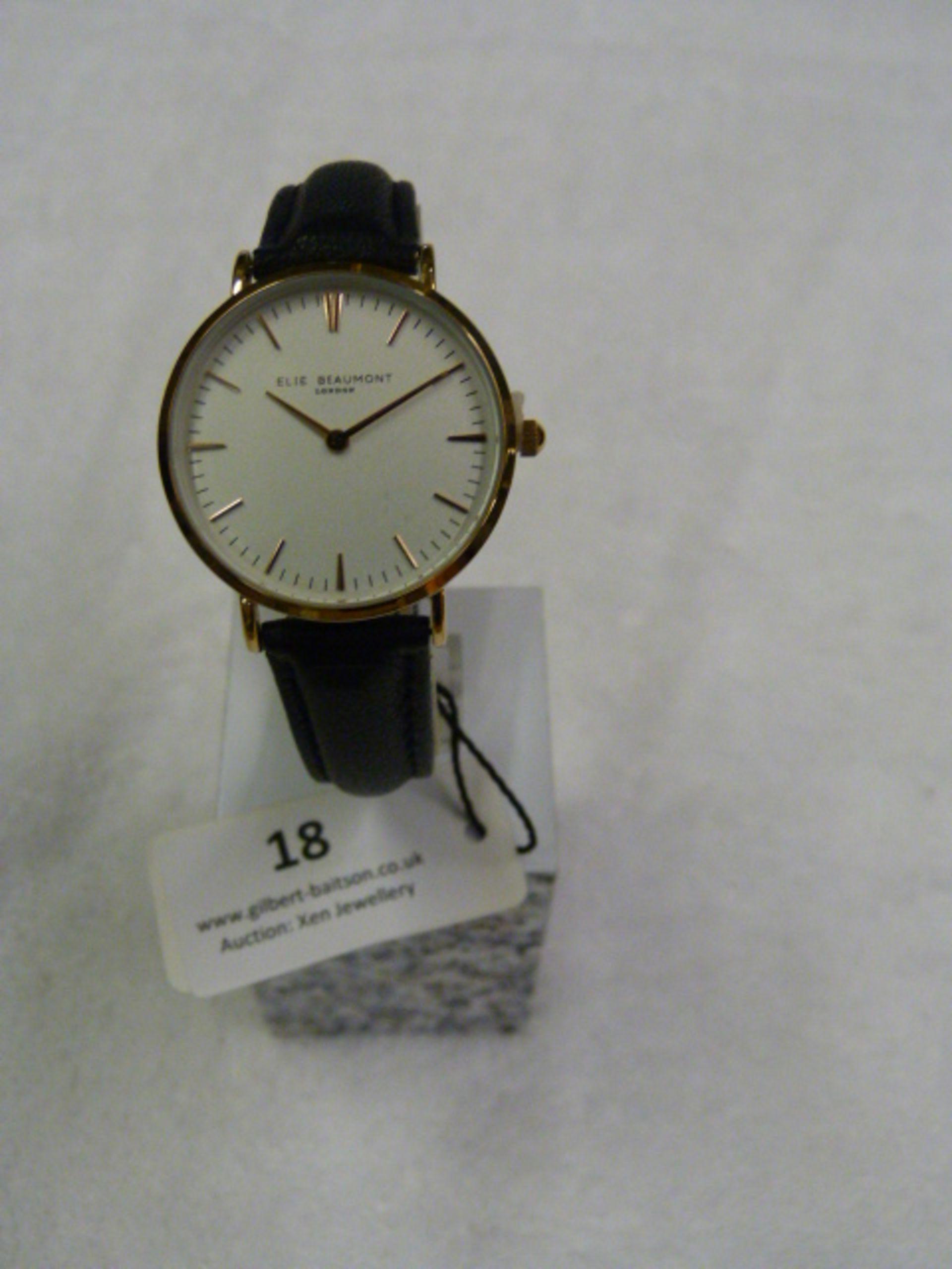 Lot 18 - *Elle Beaumont Ladies Wristwatch