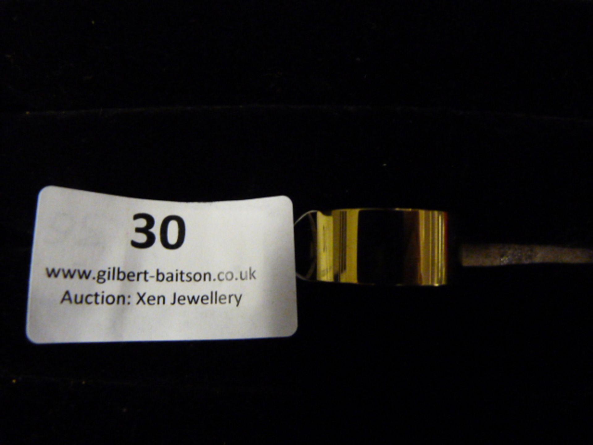 Lot 30 - *Edblad Materia Ring (Gold 18.5mm)