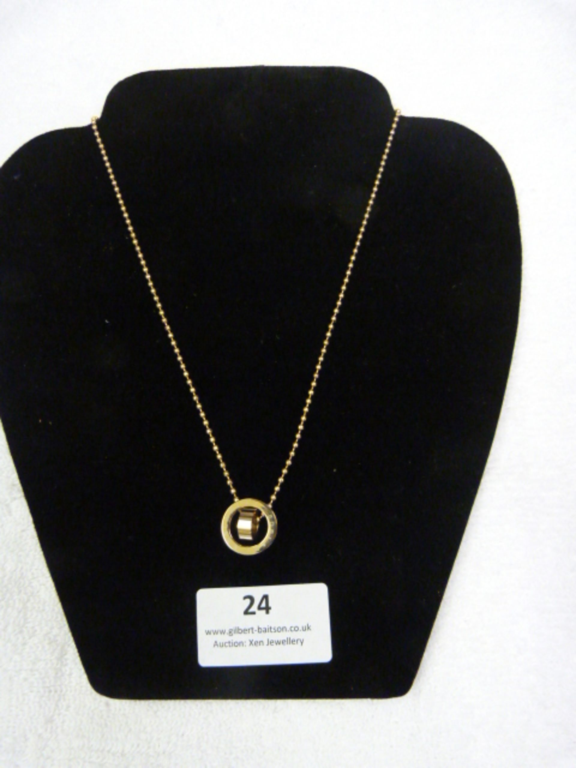 Lot 24 - *Edblad Mini Rose Gold Short Necklace