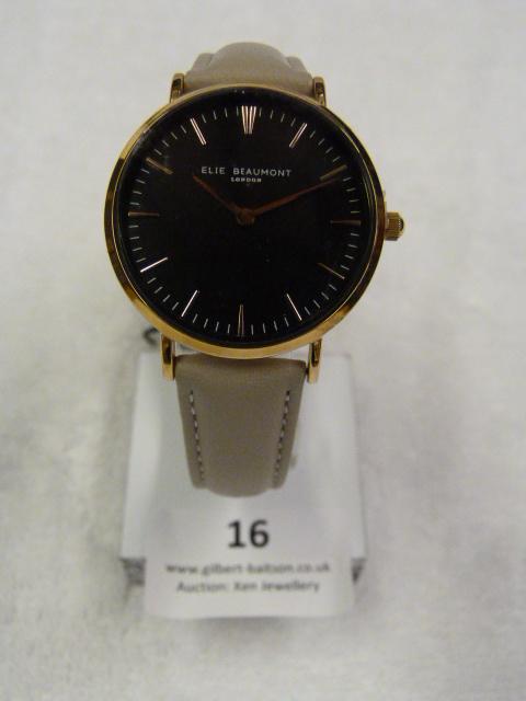 Lot 16 - *Elle Beaumont Ladies Wristwatch