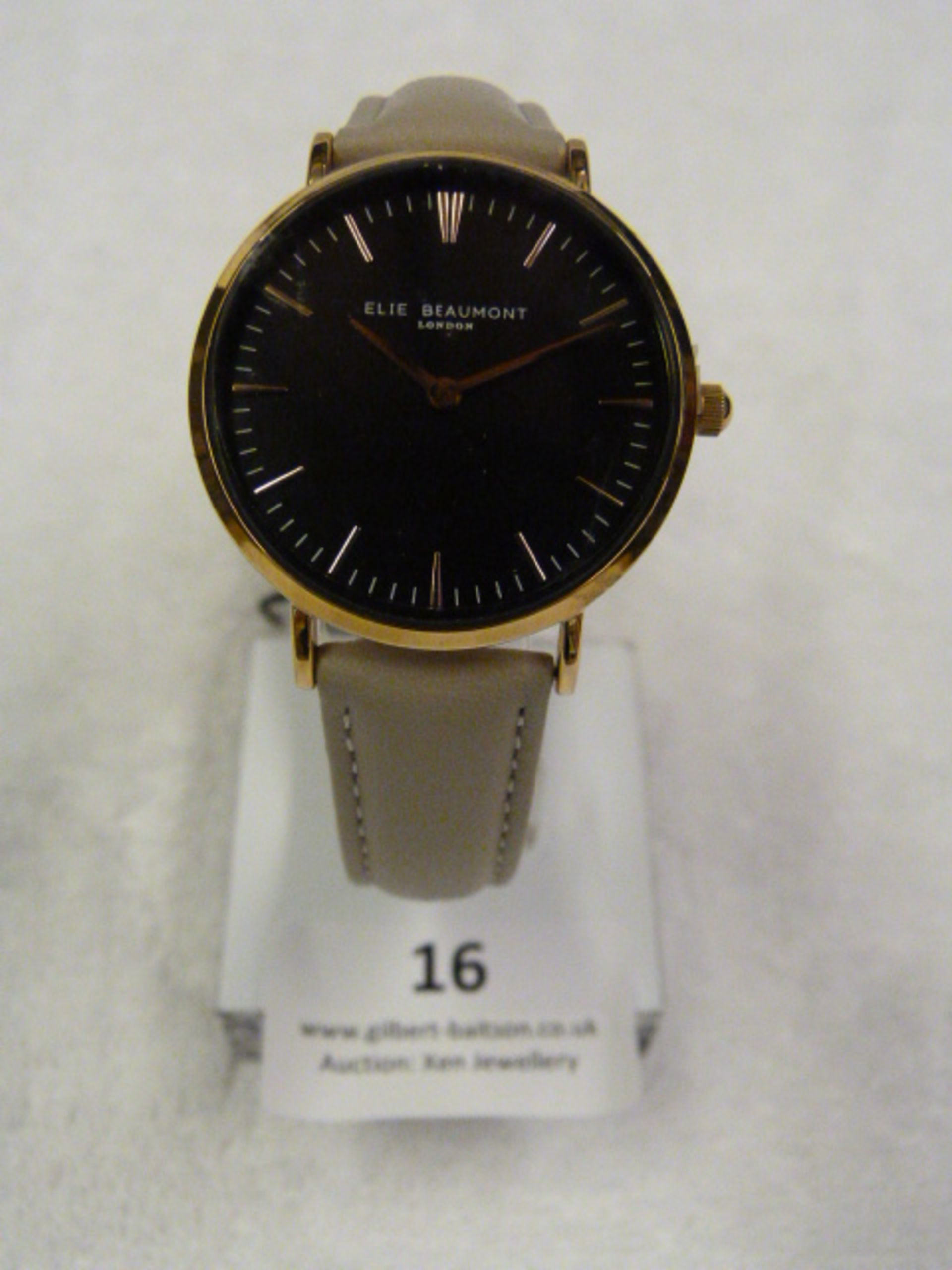 Lot 16 - *Elle Beaumont Ladies Wristwatch
