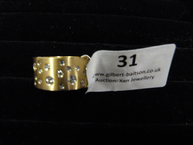 Lot 31 - *Edblad Matt Rose Gold PG6 Medium Ring