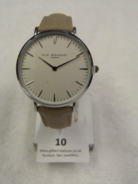 Lot 10 - *Elle Beaumont Ladies Wristwatch