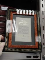 Lot 14 - Eight 5x7 Inlaid Italian Style Photo Frames