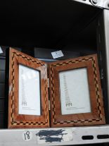 Lot 5 - Six Double Inlaid Photo Frames