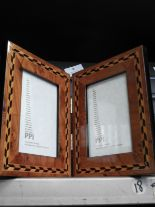 Lot 4 - Six Double Inlaid Photo Frames