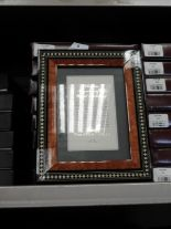 Lot 8 - Eight 5x7 Inlaid Italian Style Photo Frames