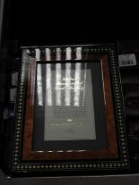 Lot 23 - Eight 5x7 Inlaid Italian Style Photo Frames