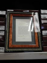Lot 17 - Eight 5x7 Inlaid Italian Style Photo Frames