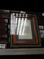 Lot 30 - Eight 5x7 Inlaid Italian Style Photo Frames