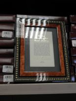 Lot 11 - Eight 5x7 Inlaid Italian Style Photo Frames