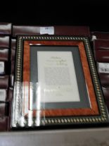 Lot 33 - Eight 5x7 Inlaid Italian Style Photo Frames