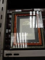 Lot 10 - Eight 5x7 Inlaid Italian Style Photo Frames