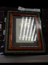Lot 28 - Eight 5x7 Inlaid Italian Style Photo Frames