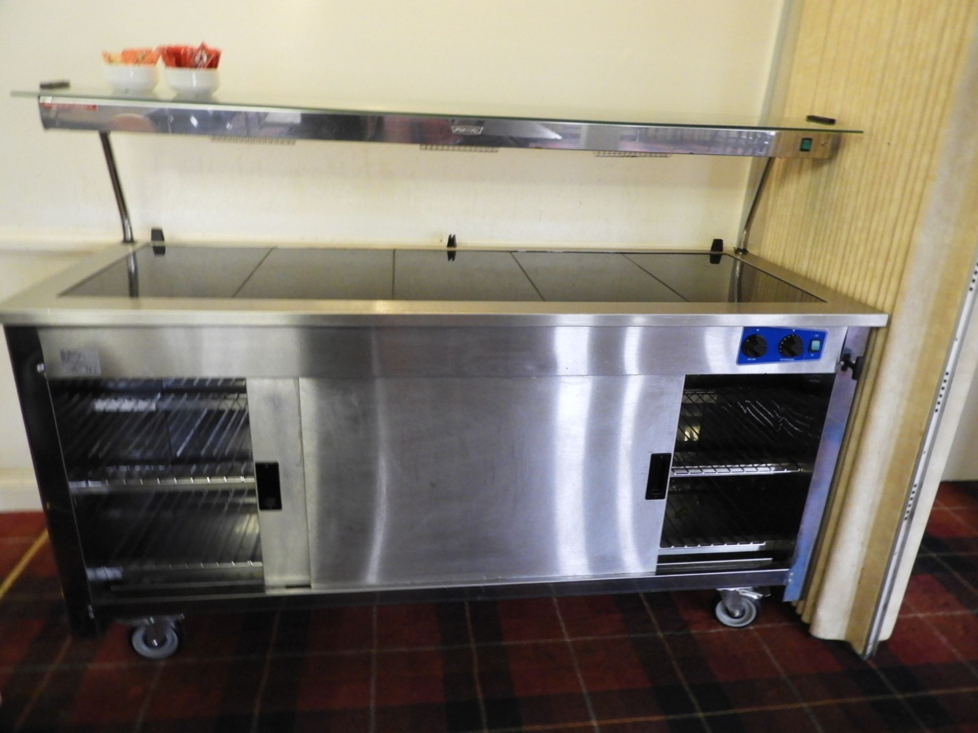 Lot 23 - *Moffitt VCH-T5 Servery Unit with Heated Lamp Disp