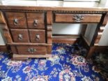 Lot 8 - *Pine Kneehole Desk