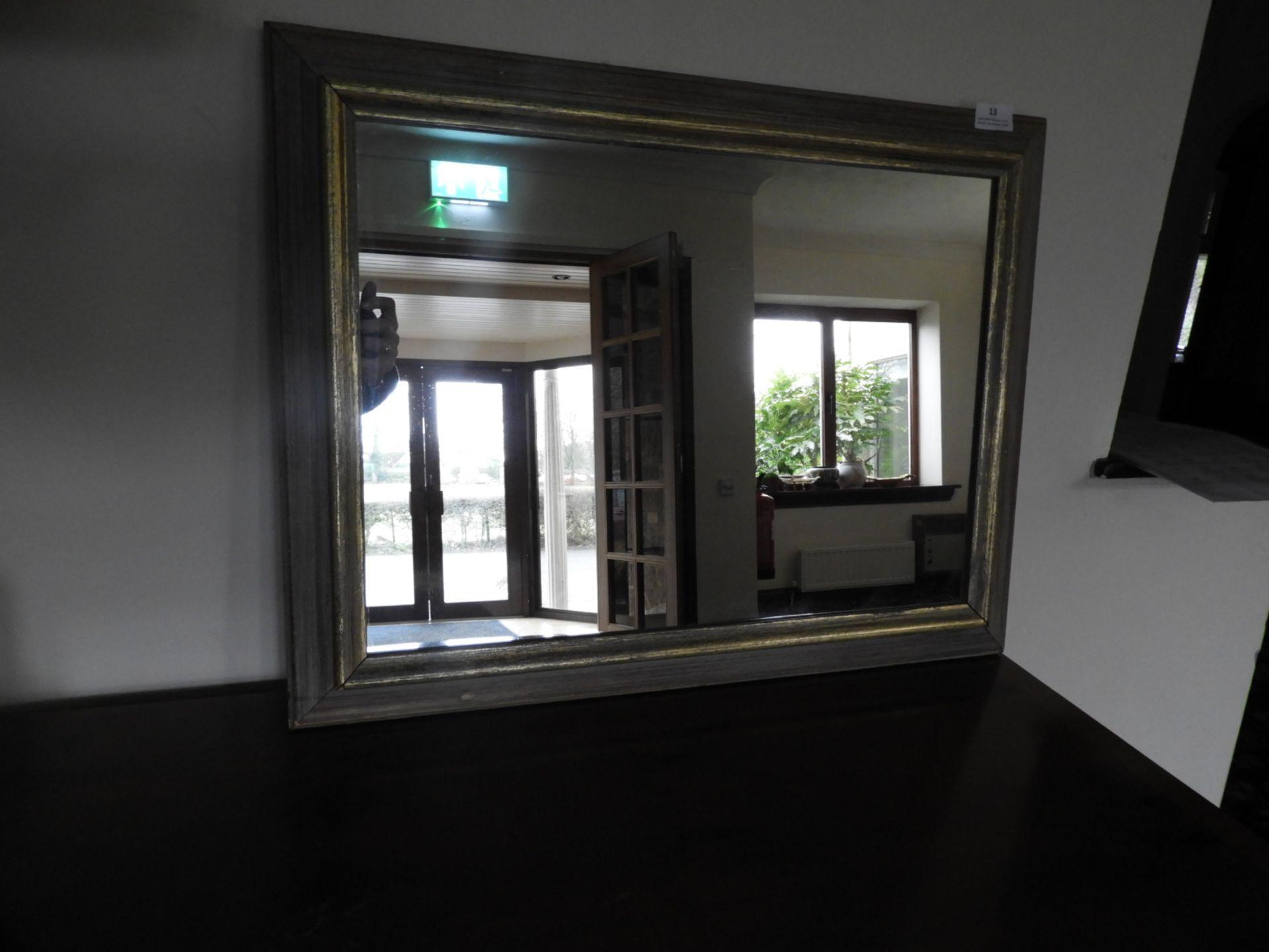 Lot 13 - *Gilt Framed Rectangular Mirror 64x49cm