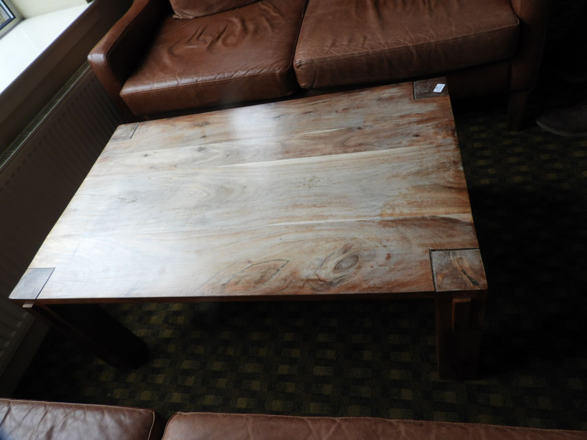 Lot 56 - *Teak Rectangular Occasional Table 110x70cm