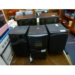 Lot 167 - Amstrad Hi Fi System with Speakers