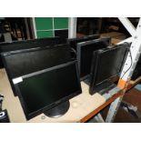 Lot 15 - *Six Flatscreen Monitors