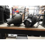 Lot 4 - *Two Strand Electric Theater Lights