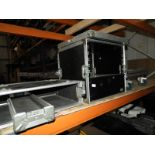 Lot 36 - *Two Empty Flight Cases with Wheels