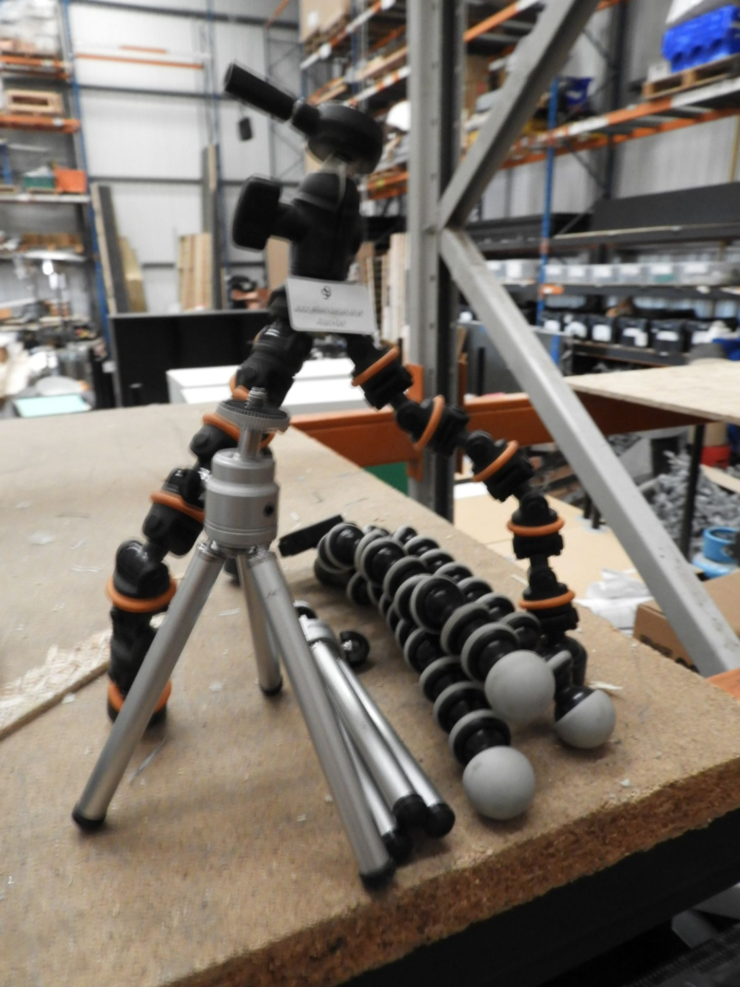 Lot 9 - *Four Miniature Tripods