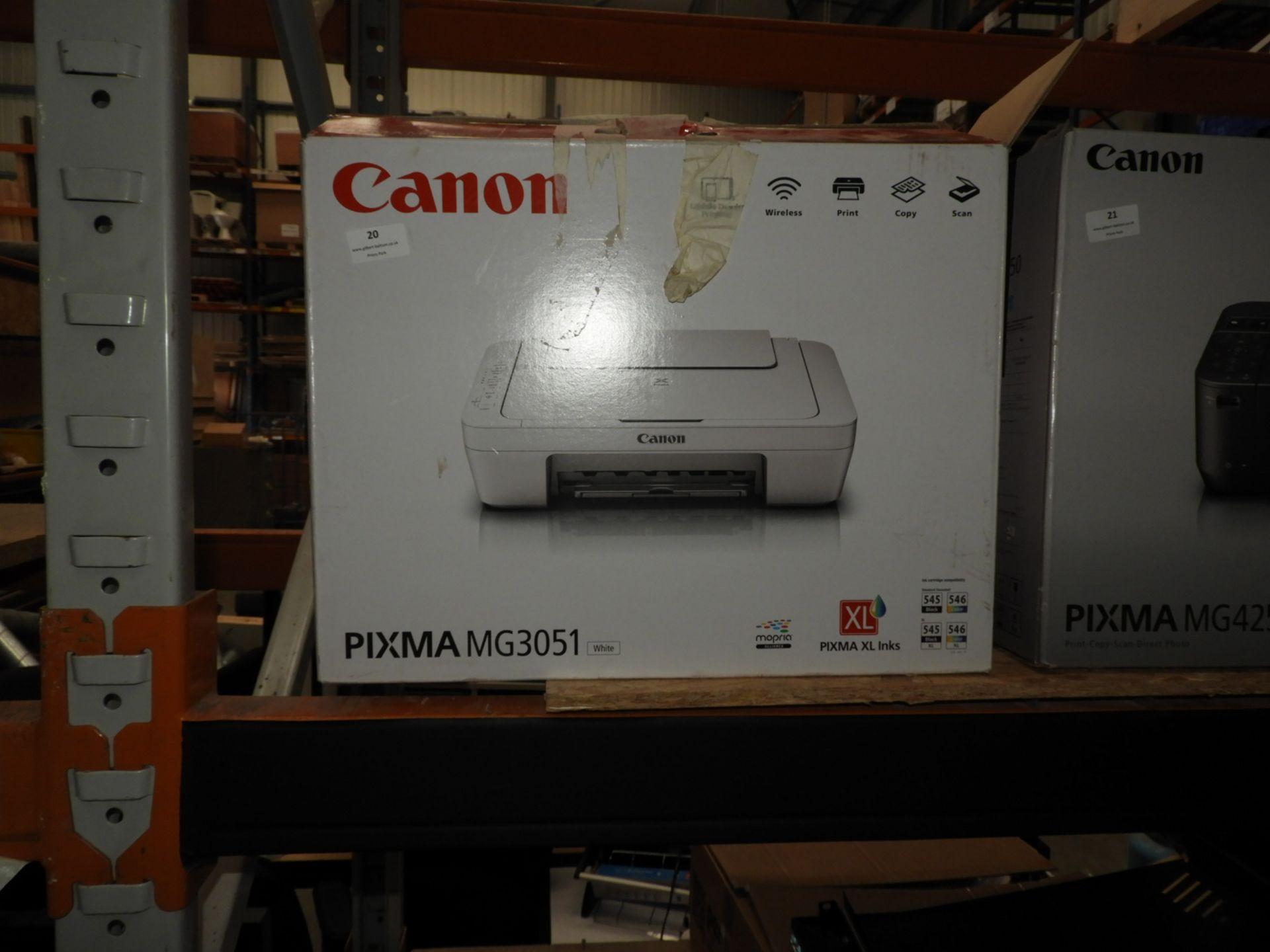 Lot 20 - *Canon Pixma MG3051 Printer